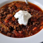 Paleo Beef & Bacon Chili