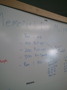 CrossFit: Memorial Day Murph!