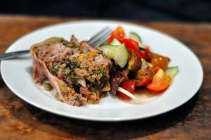 Paleo Meatloaf: End of Summer Twist