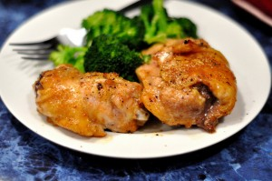 Dinner Last Night: Paleo Sticky Baked Chicken