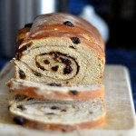 No-Knead Sourdough Cinnamon-Raisin Swirl Bread