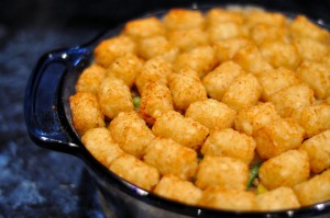 Snow Day? Make Tater-Tot Hotdish