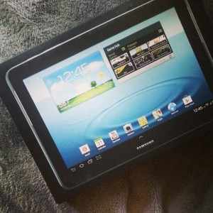 Our First Tablet. Surprised?