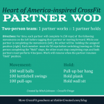 HOA5-inspired CrossFit Partner WOD