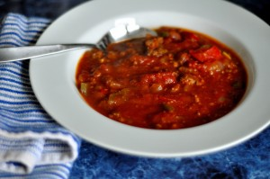 Spicy Whole30 Chili