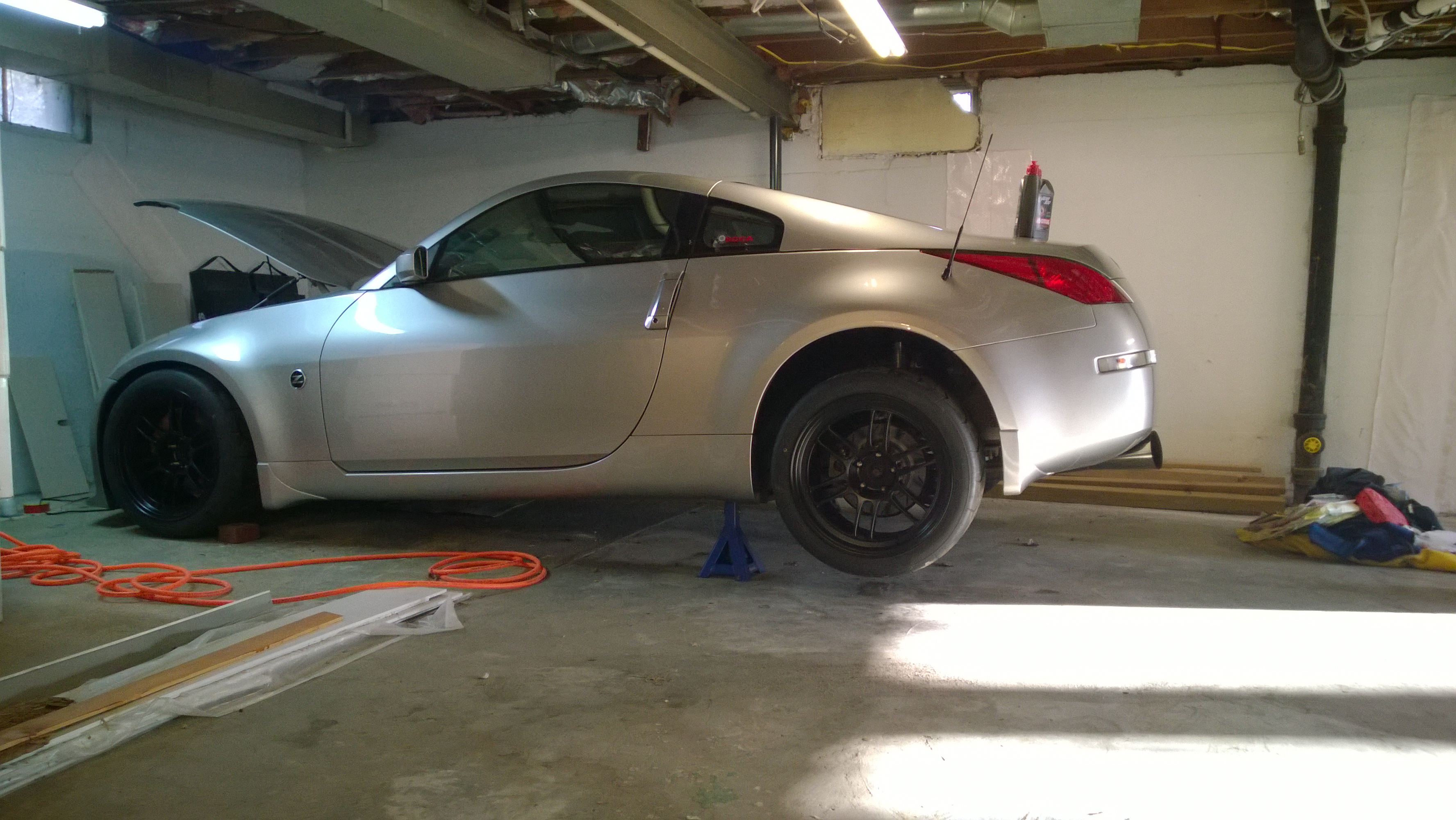How to change the differential fluid on a nissan 350z sciox Gallery
