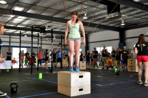 Scenes from the Weekend: CrossFit and Spring Cleaning