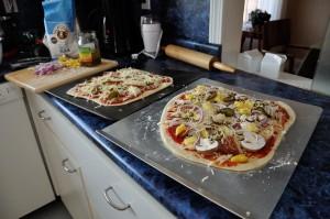 Weekend Recap: Pizza and Baby Bedrooms