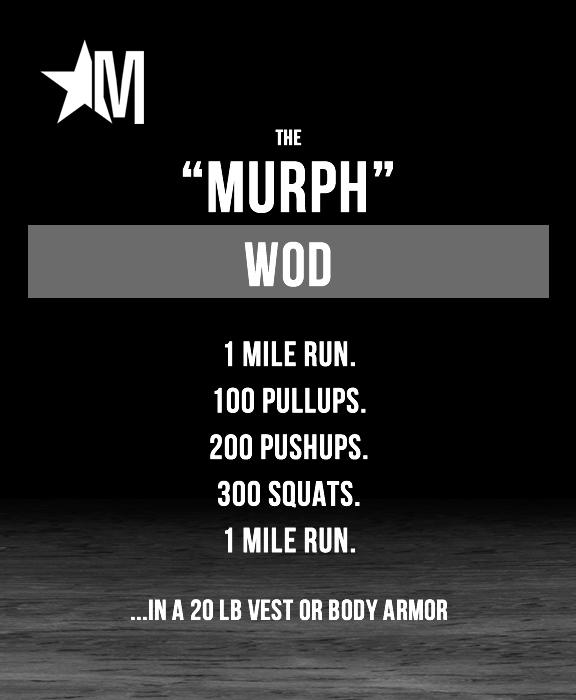 Murph WOD - Kohler Created