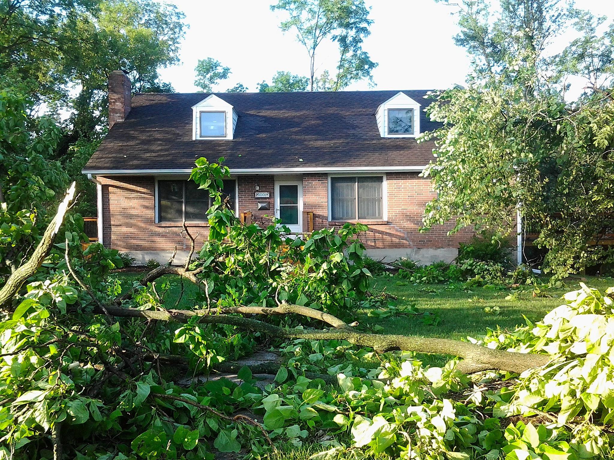 7-7-14 Columbia Missouri storm
