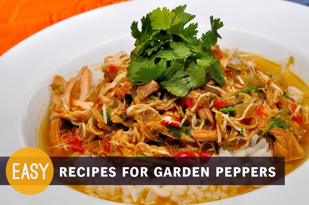 Easy Recipes for Garden Peppers - Kohler Created