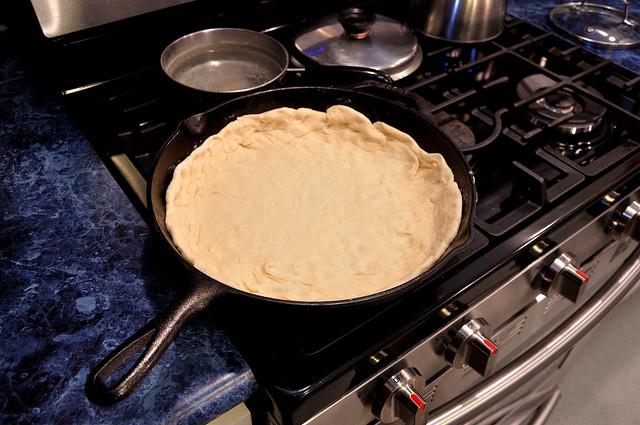 Cast Iron Pizza Crust Recipe - Kohler Created
