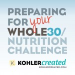 Preparing for your Whole30/Nutrition Challenge