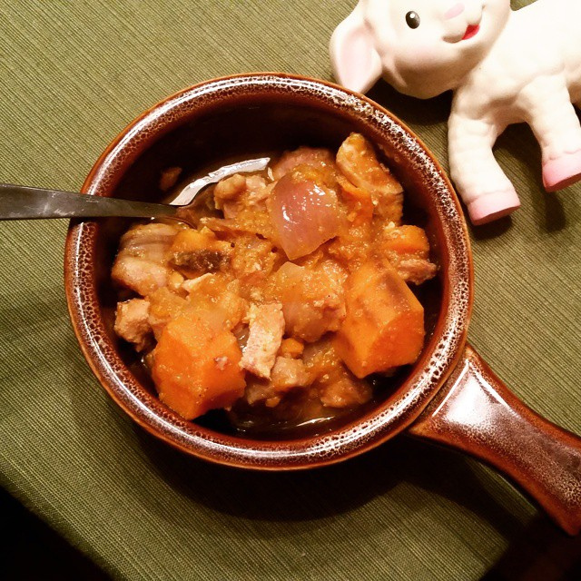 Crockpot Chicken with Apple and Sweet Potato - Kohler Created