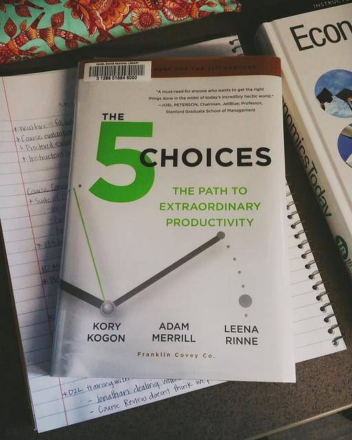 The 5 Choices - Kohler Created