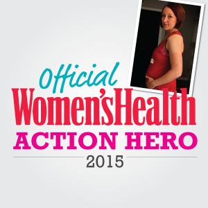2015 Women's Health Action Hero