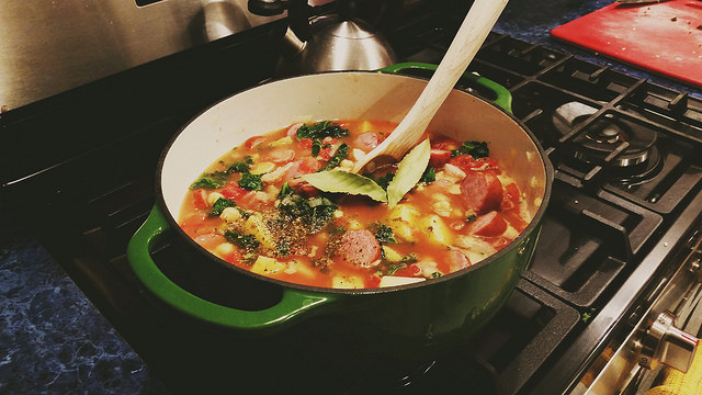 Sausage and Kale Soup - Kohler Created