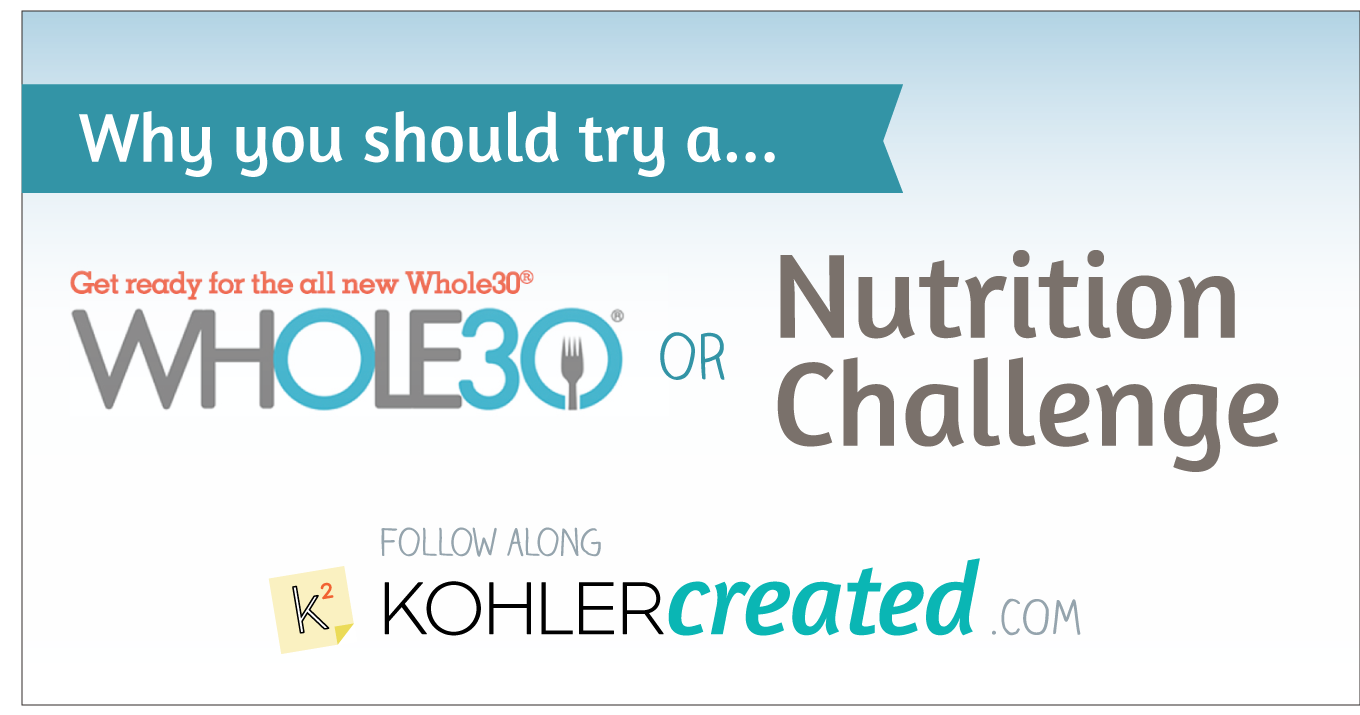 Why You Should Do a Whole30/Nutrition Challenge - Kohler Created