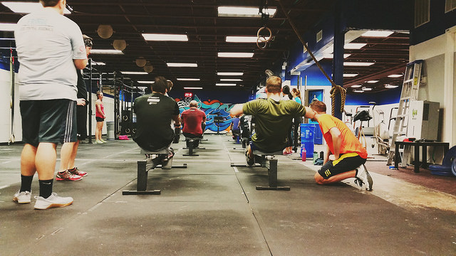 Whole30/Nutrition Challenge test WODs at CrossFit Fringe