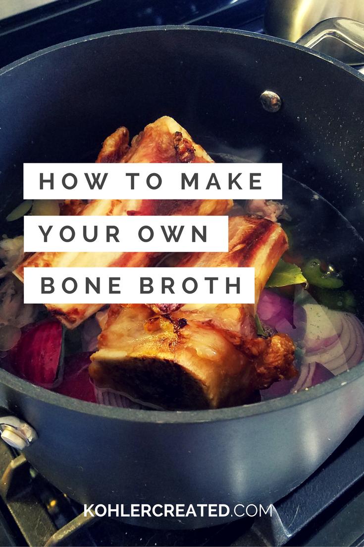 Paleo Beef Bone Broth - Kohler Created