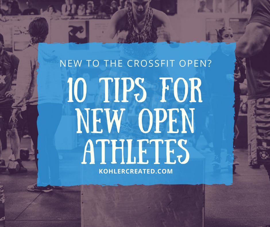 2018 CrossFit Open Workout