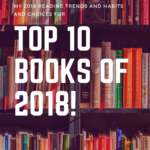 My Best Books of 2018 and Reading Goal for 2019!